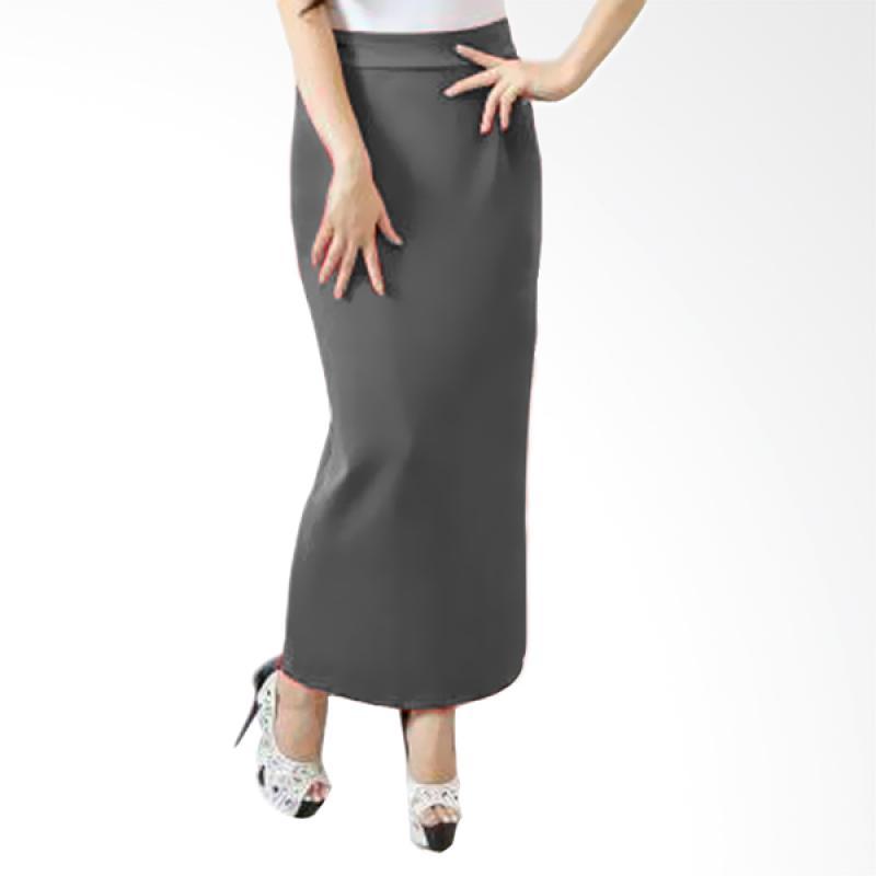 Rasya Span Wedges Rok - Grey