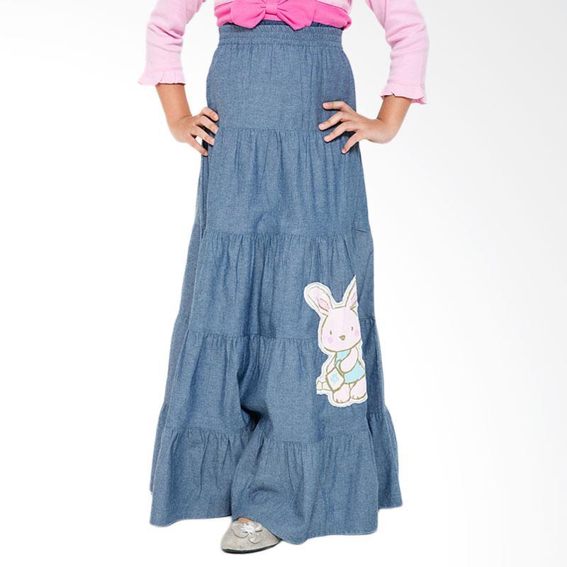 4 You Rabbit Long Skirt - Biru