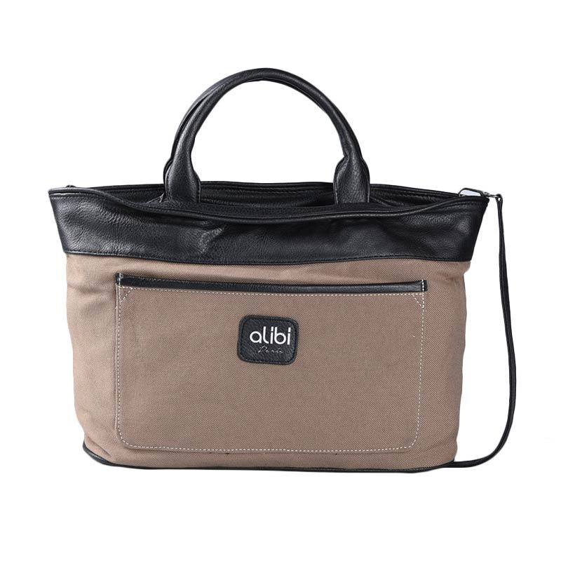 Alibi T0878K1 Moderne Hand Bag - Brown