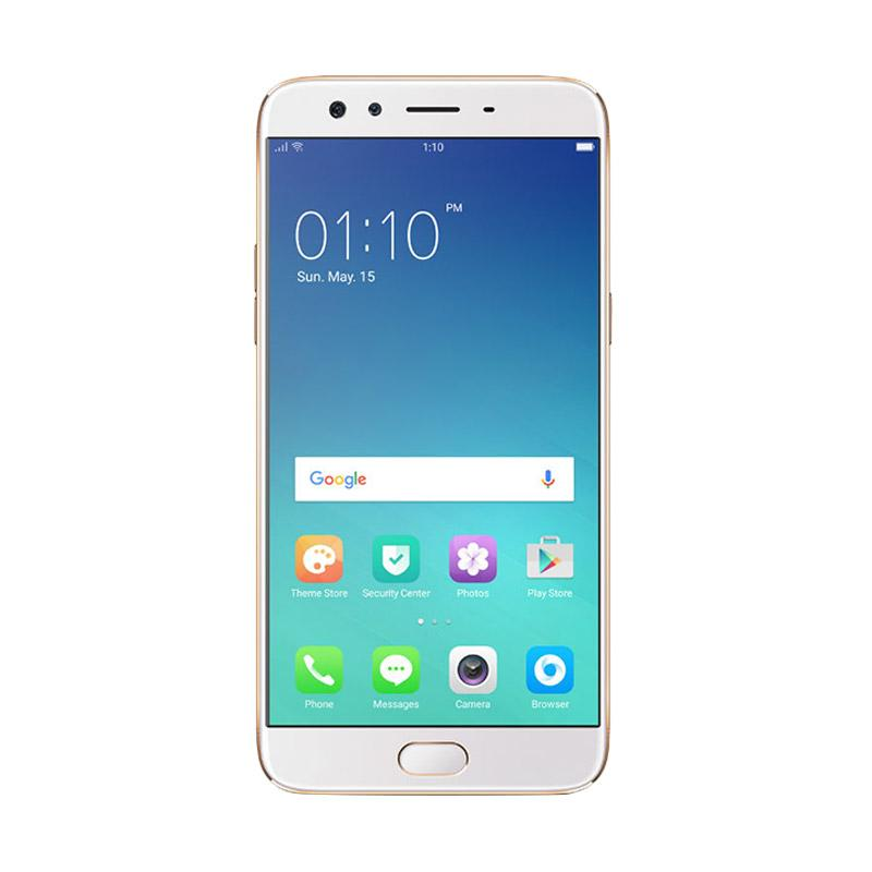 Oppo F3 Smartphone - Rose Gold [64GB/4GB]