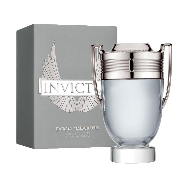 Paco Rabane Invictus Parfum Pria [100 mL]