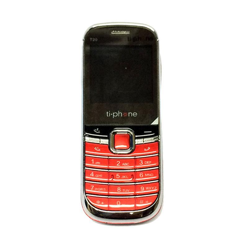 TiPhone T20 Handphone - Merah