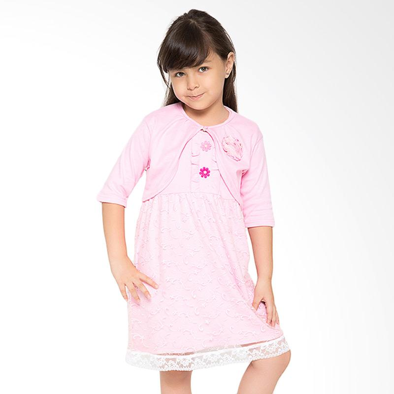 4 You Bolero Tile Dress - Pink