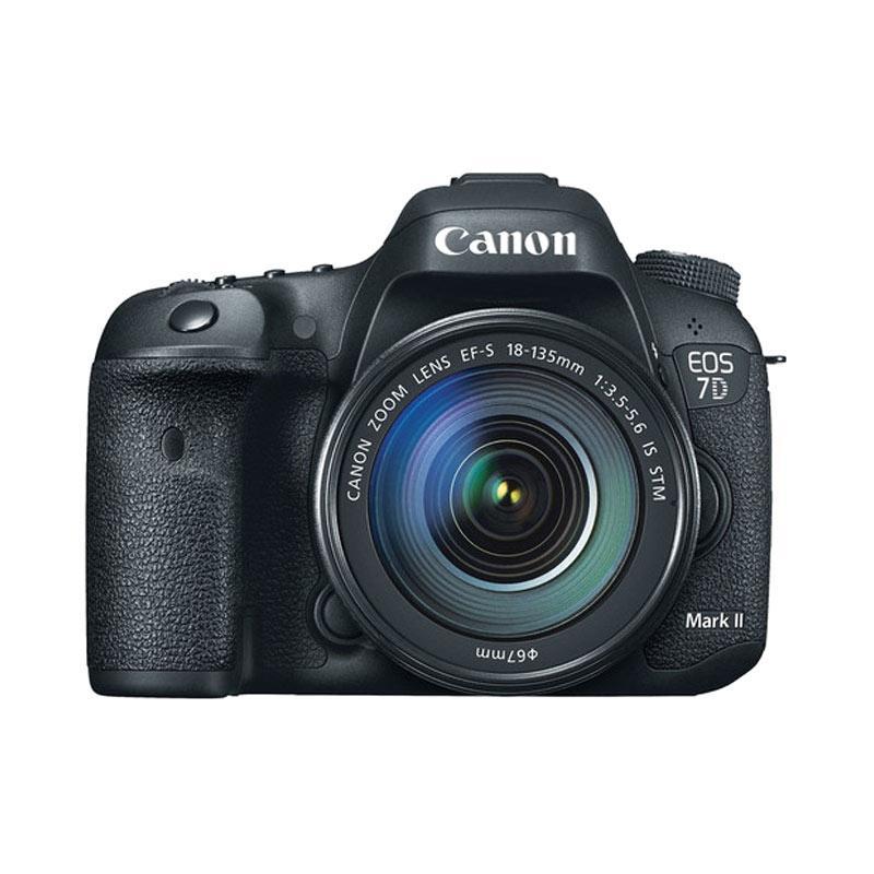 harga Canon EOS 7D Mark II 18-135mm WiFi Kamera DSLR Citra Photo Lovers Blibli.com