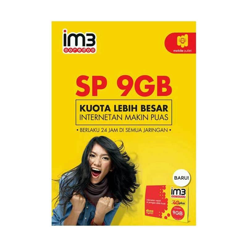 harga Indosat Ooredo Kartu Perdana Internet [9 GB] Blibli.com