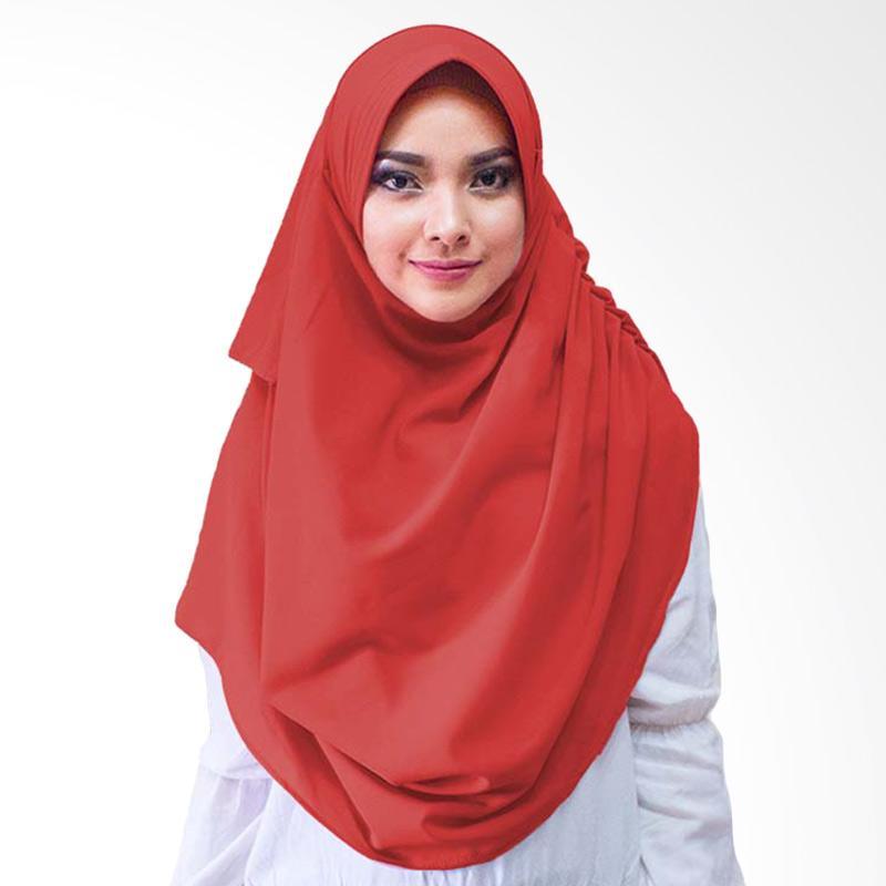Milyarda Hijab Dravia Hijab Instan - Merah