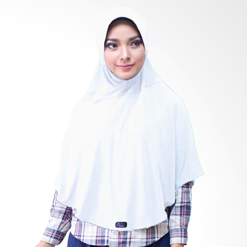 Milyarda Hijab Bergo M Jilbab Instan - Putih