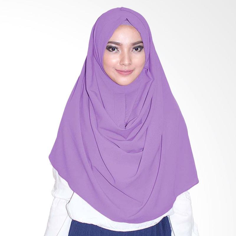 Milyarda Hijab  Emily Jilbab Instan - Lavender