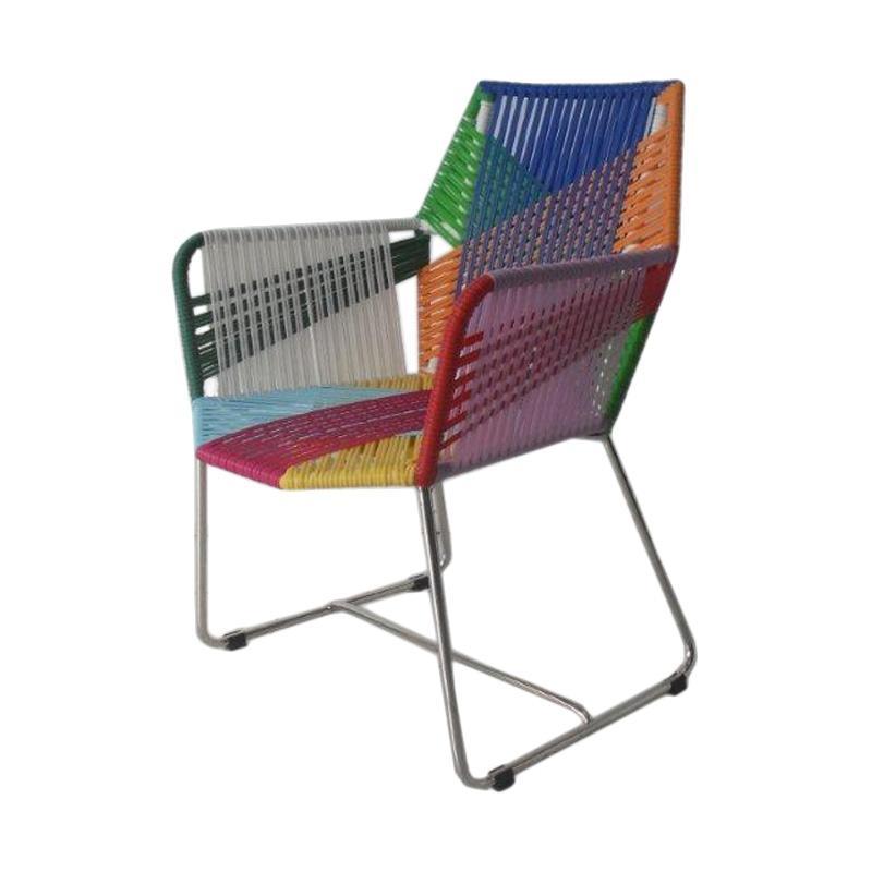 Pine Rotan Buterfly Arm Chair Kursi