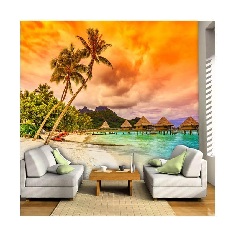 Jual Wallpaper Murah Jogja Pantai 3d Wallpaper Dinding Murah
