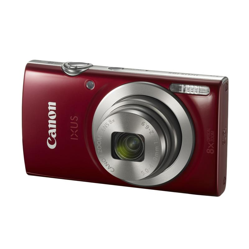 Canon IXUS 185 Kamera Pocket - Red RESMI PT DATASCRIP