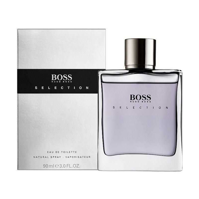Hugo Boss Selection EDT Parfum Pria [90 mL] Ori Tester Non Box