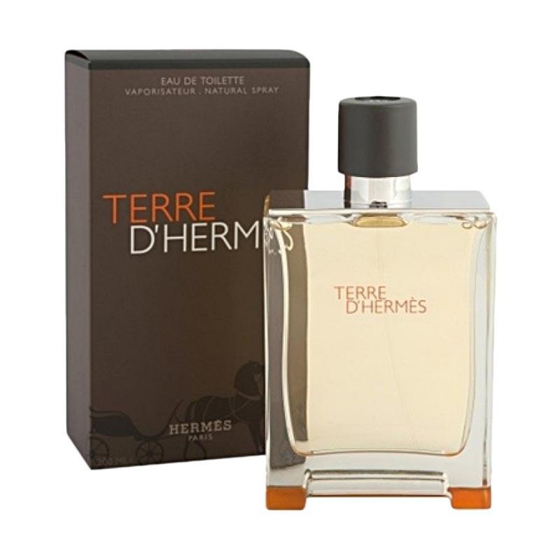Hermes Terre D Hermes EDT Parfum Pria [100 mL] Ori Tester Non Box
