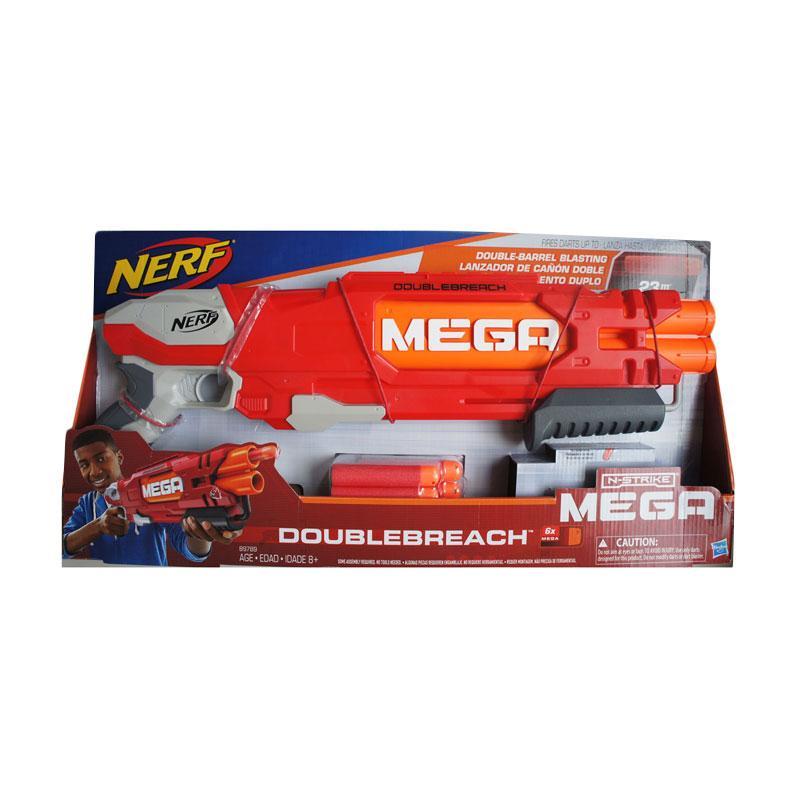 NERF Mega Doublebreach Mainan Anak