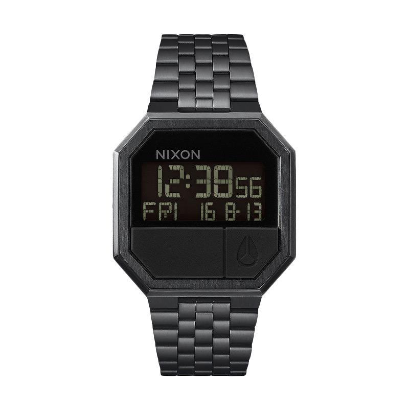 Nixon ReRun Digital Jam Tangan Pria A158001 - Black