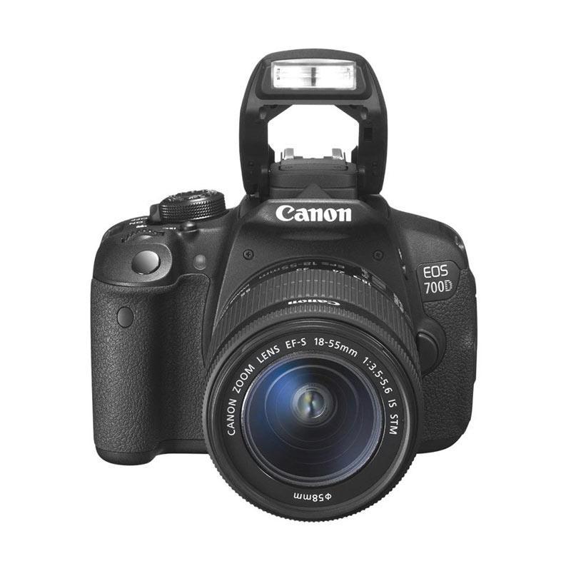 Canon Eos 700d Kit Ef S 18 55mm Is Stm Kamera Dslr