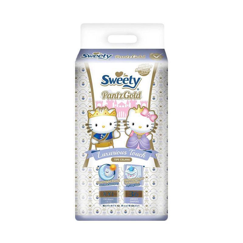 Sweety Pantz Gold XXL 36