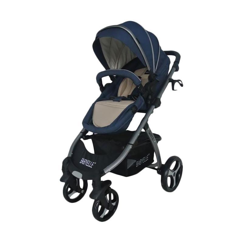 harga Baby Elle 907 Onyx Baby Stroller - Blue Blibli.com