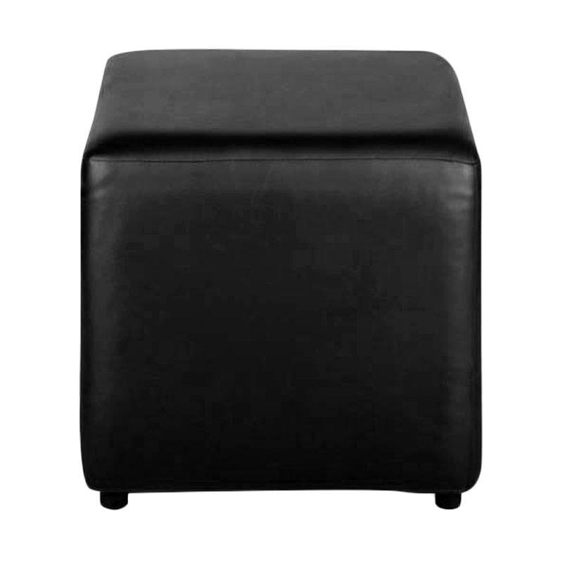 JYSK Pouffe Amma - Black [45x45x45cm]