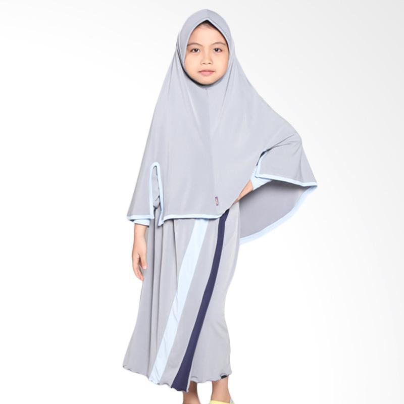 Allev Rifa Baju Muslim Anak - Abu