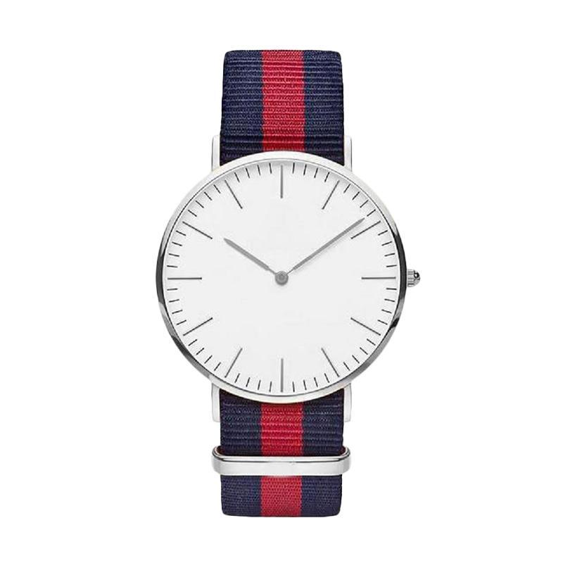 Fashion Watch Color Strap Jam Tangan Wanita