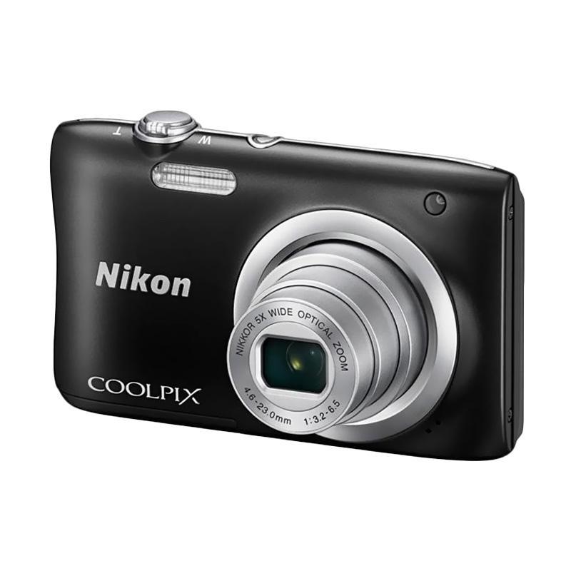 harga Nikon Coolpix A100 Kamera Pocket - Black Blibli.com