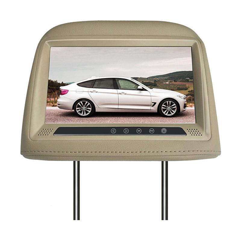 harga AVT HM 9088 Headrest Monitor - Beige Blibli.com