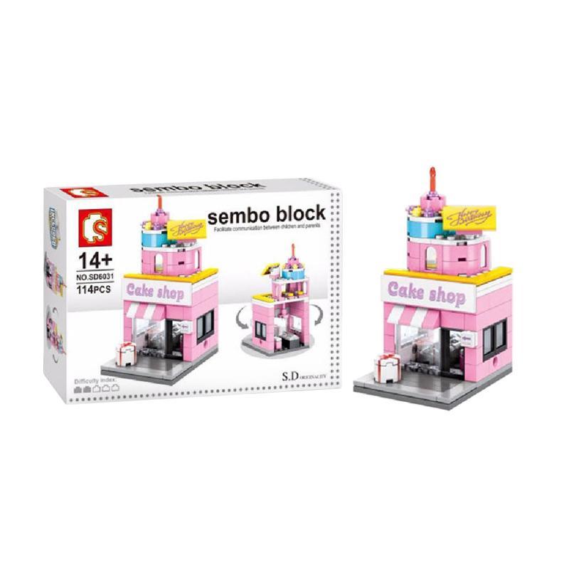 Sembo Sd6031 Cake Shop Mini Blocks