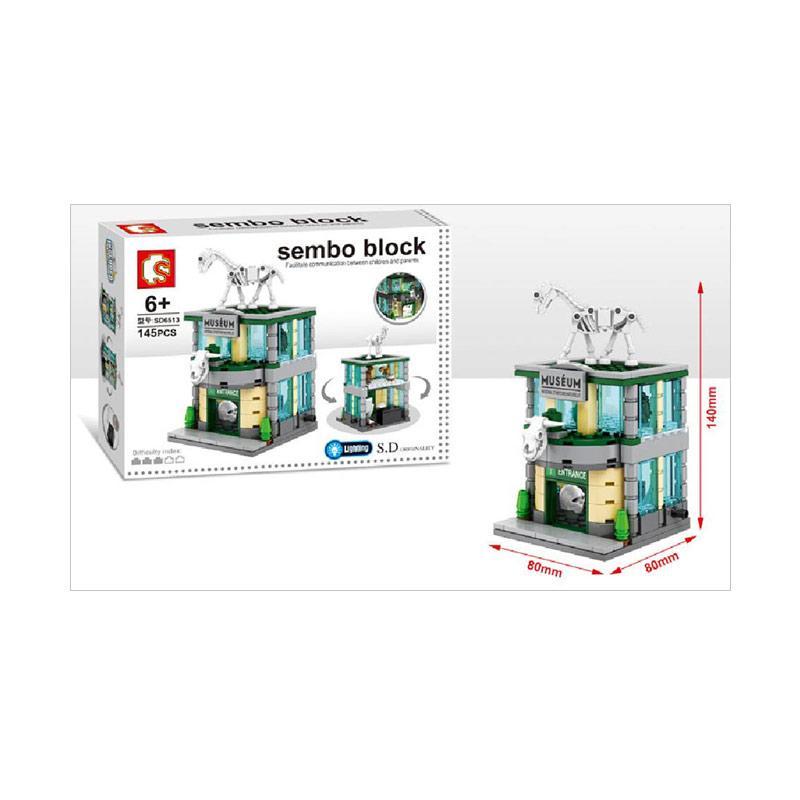 Sembo SD6513 Museum Mini Blocks