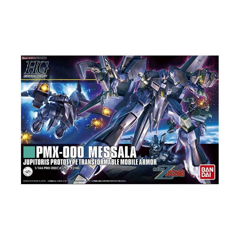 Bandai HG PMX-000 Messala Model Kit [1:144]