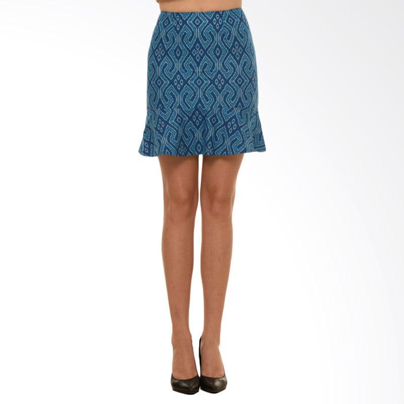 Bateeq CL15-011B Peplum Skirt - Blue