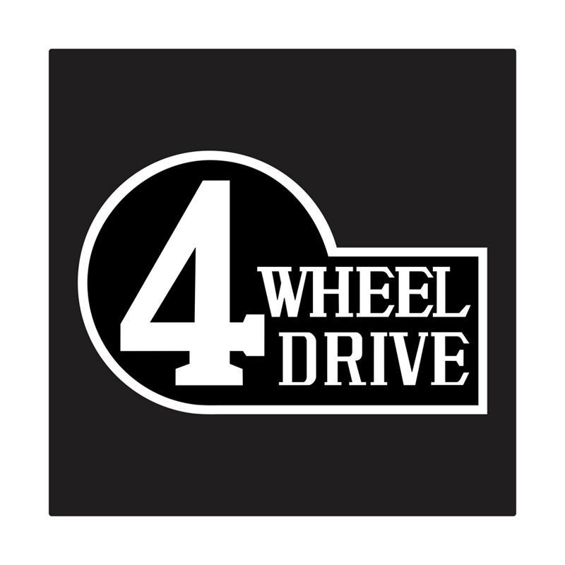 Kyle 4 Wheel Drive Cutting Sticker