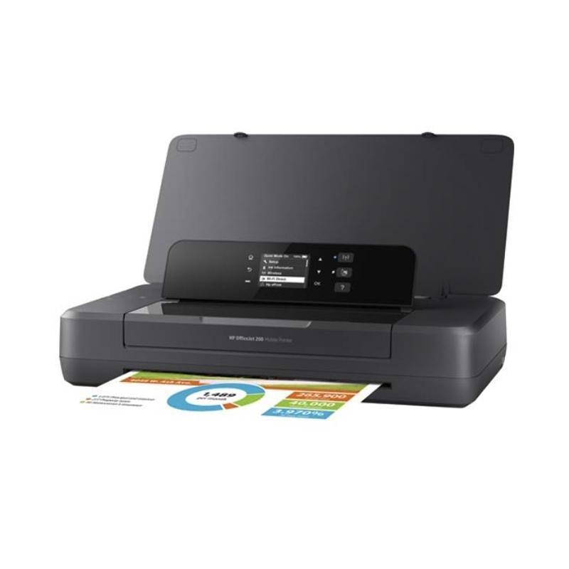 HP OfficeJet 200 Mobile Printer - Black