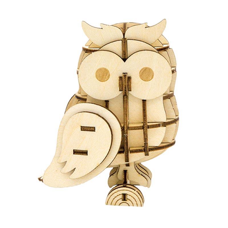 Kigumi Owl 3D Puzzle