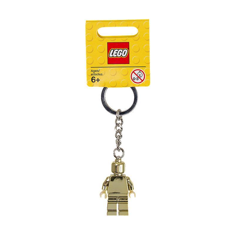 Lego Gold Minifigure 850807 Keychain