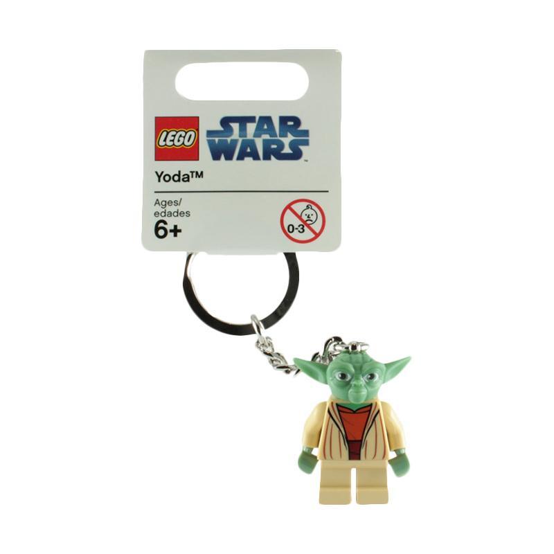 Lego 852550 Star Wars Yoda Key Chain Mainan Blok & Puzzle