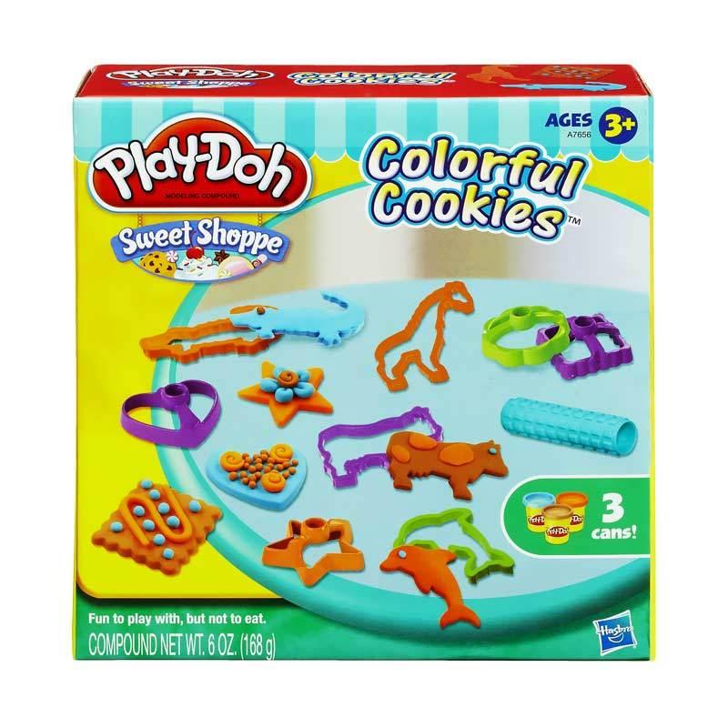 Playdoh Colorful Cookies Mainan Anak