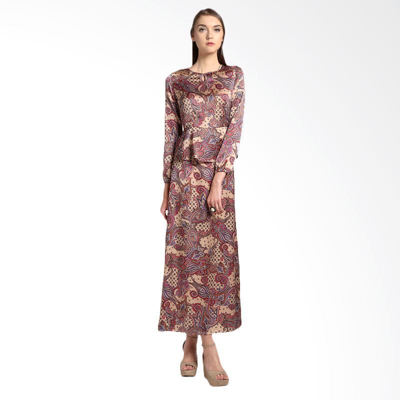 Bateeq 14-059 Dress Muslim - Brown