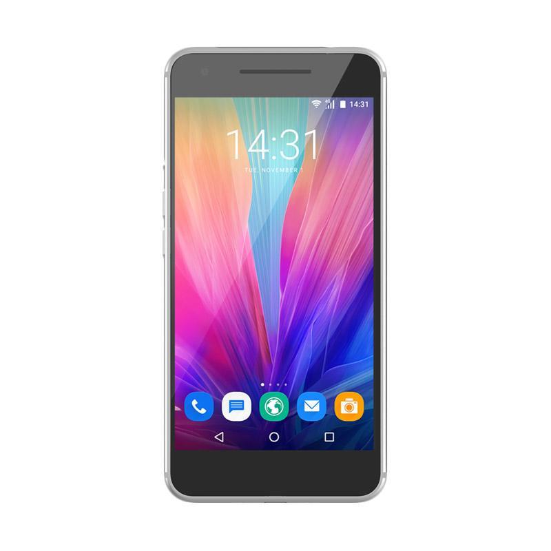 LUNA ELEVATE V55 Smartphone - Silver [64 GB/3 GB]