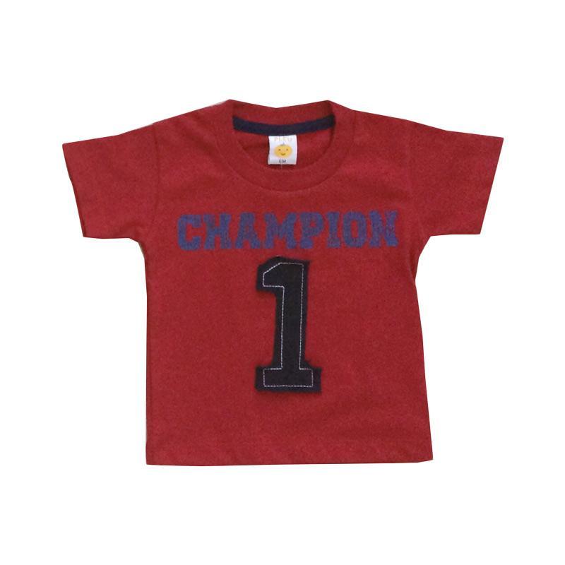 Pleu Champion 1 T-shirt Anak - Red