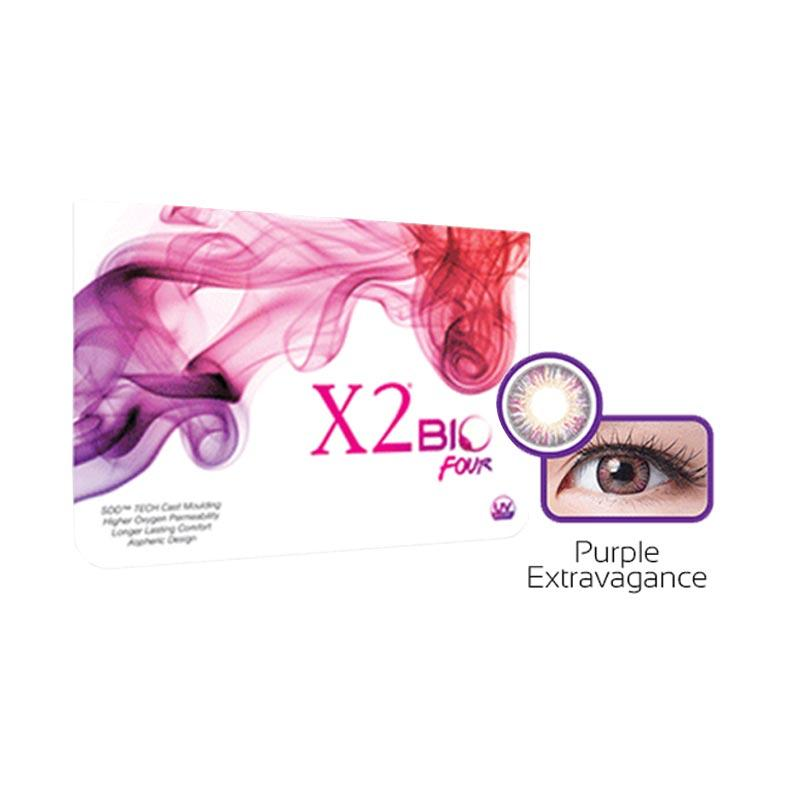 X2 Bio Four - Purple Extravagance Softlens