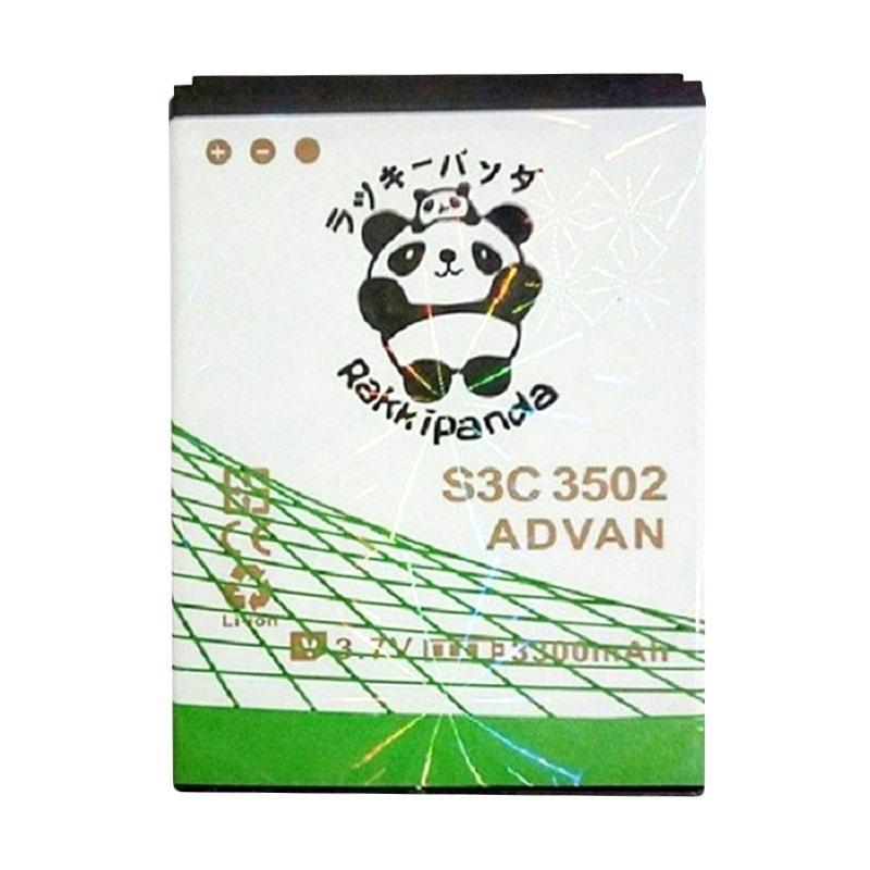 RAKKIPANDA Double Power IC Baterai for Advan S3C C5302 or S3 Plus