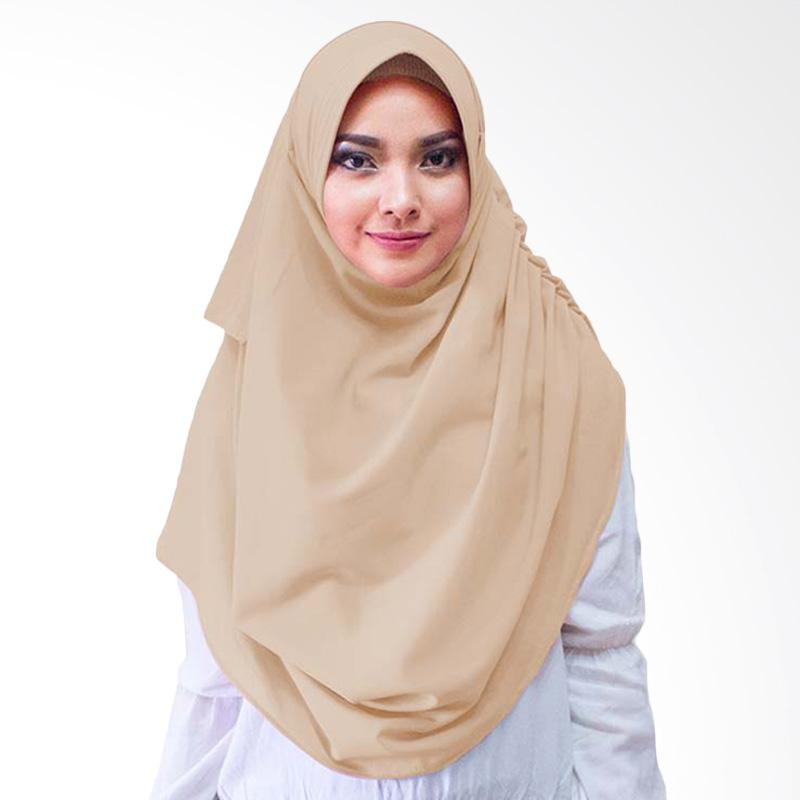 Milyarda Hijab Dravia Hijab Instan - Coklat Susu