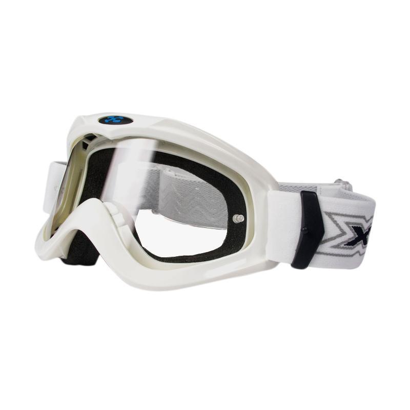 Xforce® Max Moto Cross Goggle - White