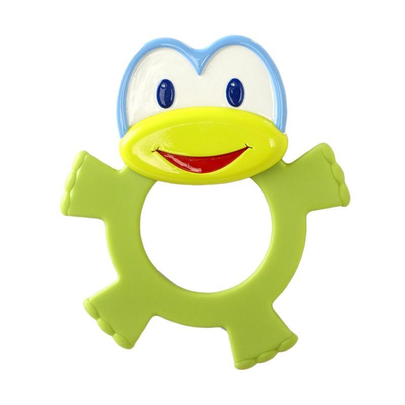 Bright Starts Dancing Friends Teether Mainan Bayi - Frog