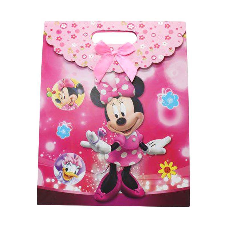KUKUK PBG-CRTNM Kartun Minnie Paper Goodie Bag [Sedang]