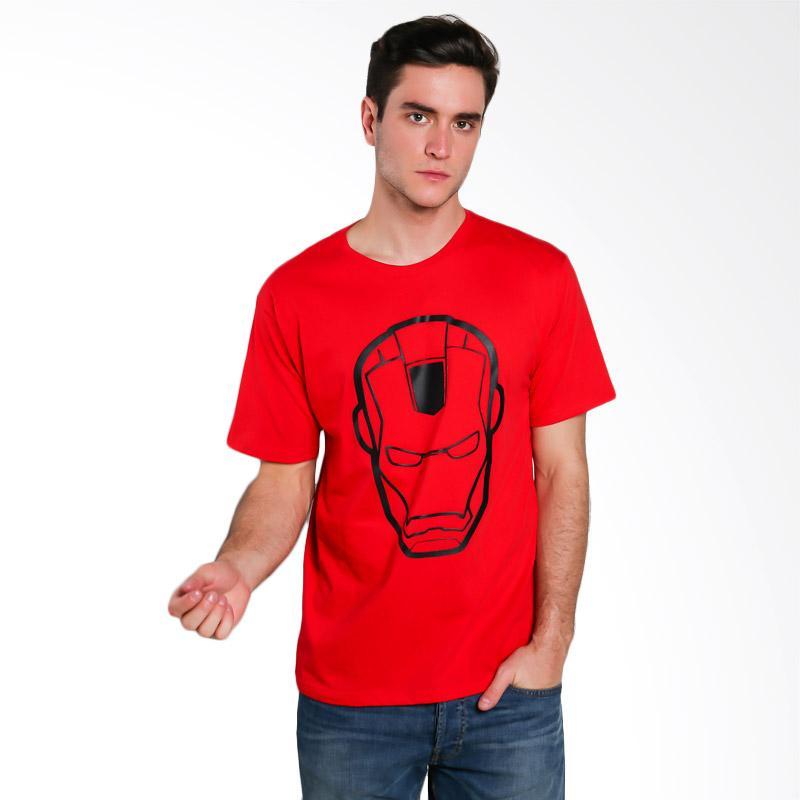 Hypestore Iron Man T-Shirt Pria [3099-4073]