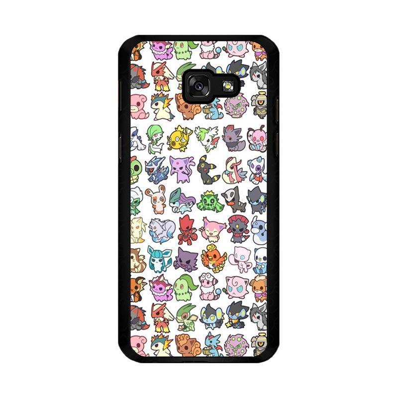 Flazzstore Pattern Pokemon O0061 Custom Casing for Samsung Galaxy A5 2017
