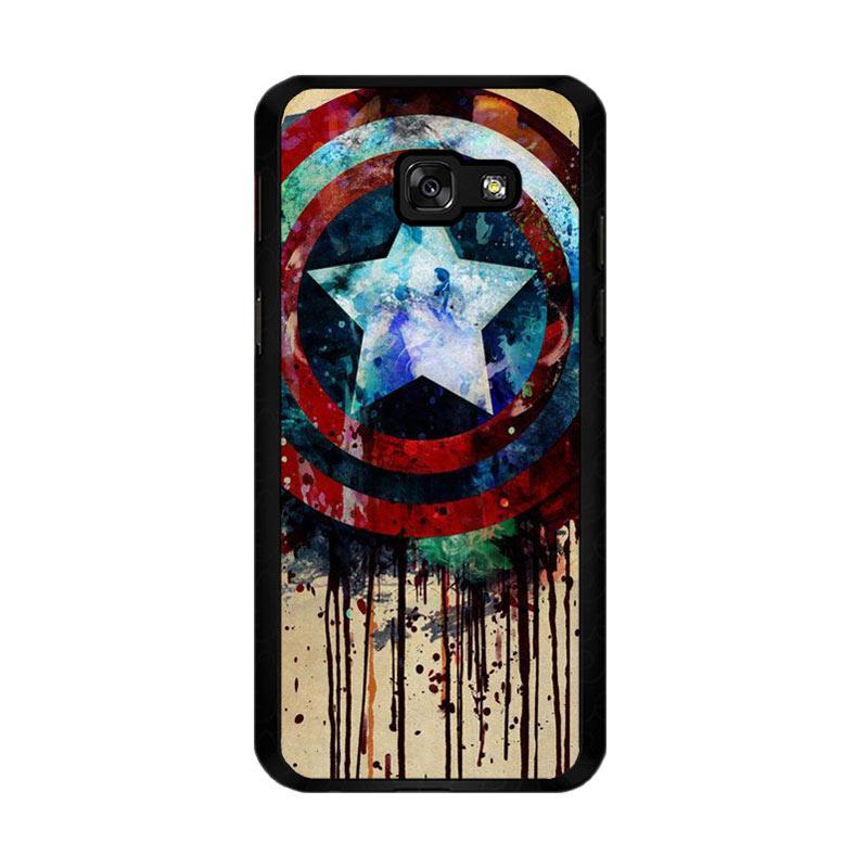 Flazzstore Captain America Shield Art F0155 Custom Casing for Samsung Galaxy A5 2017