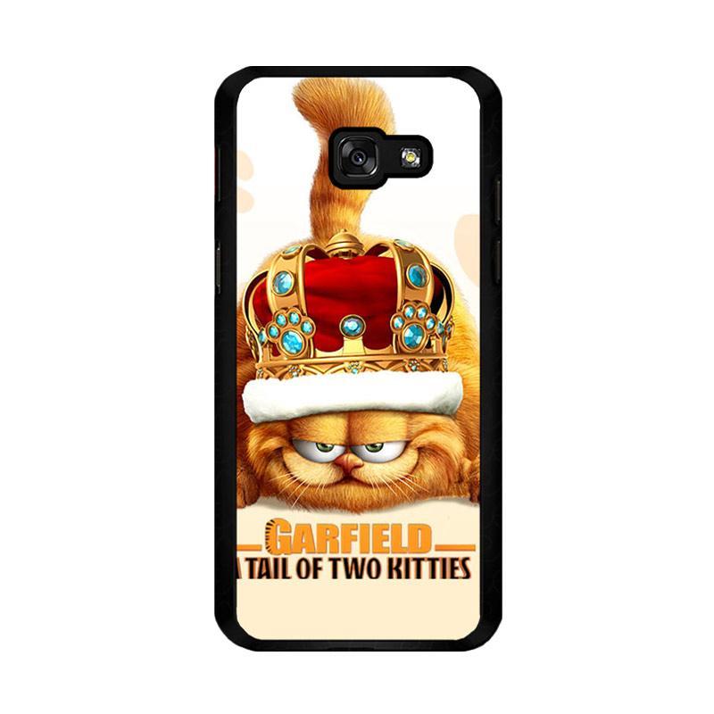 Flazzstore Garfield Tailof Twokitties Wall F0175 Costum Casing for Samsung Galaxy A5 2017